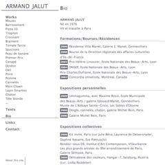 """<div class=""""preview"""" id=""""project_armandjalut"""">\n<dl>\n<dt>Armand Jalut</dt>\n<dd>www.armandjalut.com est le site de l'artiste <br>\nArmand Jalut.</dd>\n</dl>\n</div>"""