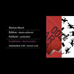 """<div class=""""preview"""" id=""""project_mmazet"""">\n<dl>\n<dt>Marion Mazet</dt>\n<dd>Le site portfolio de la graphiste <br>\ntravaillant � Madrid pour l'Espagne <br>\net le Portugal.</dd>\n</dl>\n</div>"""
